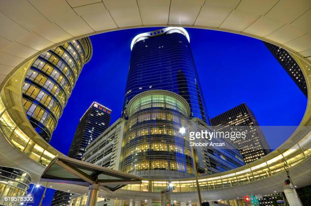 Modern architecture in Downtown Houston