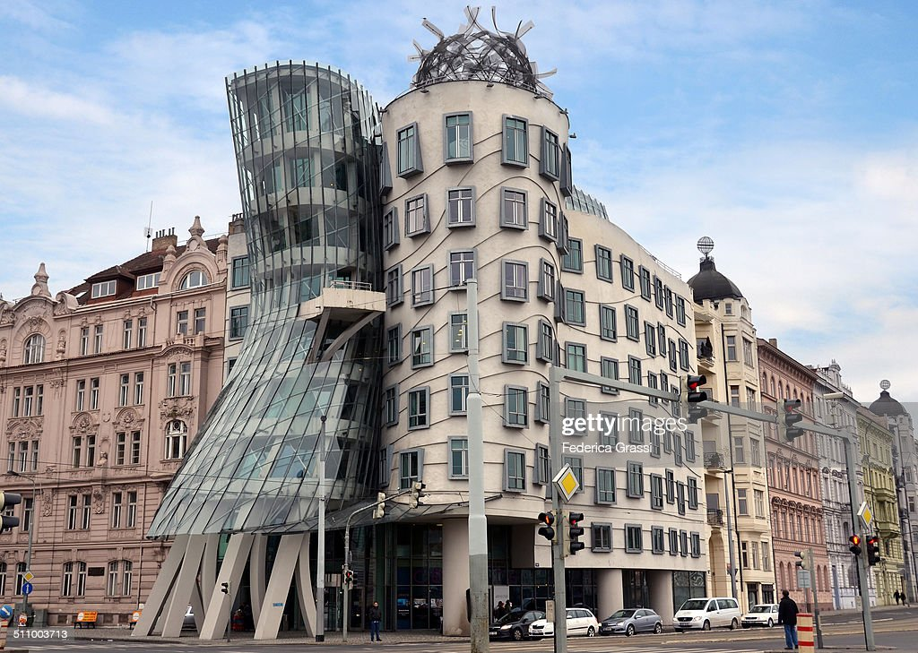 Modern Architecture in Prague This building is called The Dancing House or Fred and Ginger and it was completed in 1996 Designed by architect Vlado...