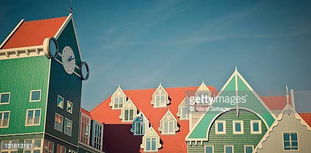 Modern architecture in Zaandam Netherlands