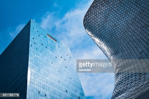 modern architecture museo soumaya in mexico city mexico stock photo - Modern Architecture Mexico