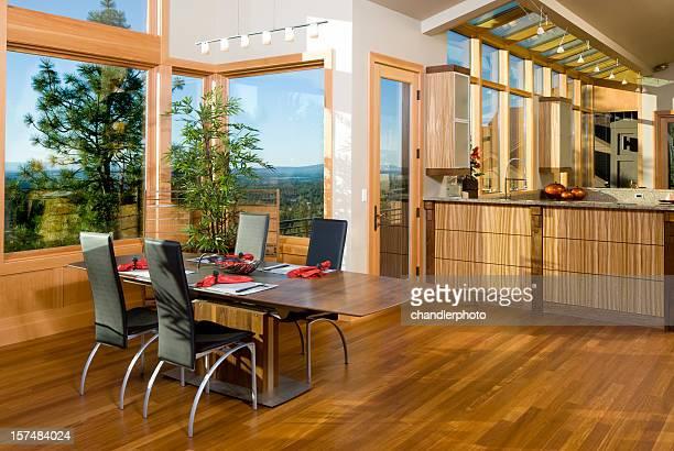 Modern Asian dining room