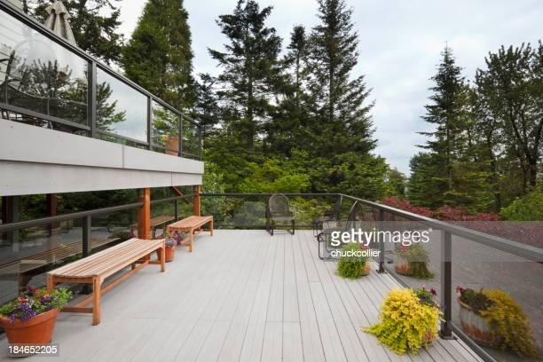Modern Back Deck