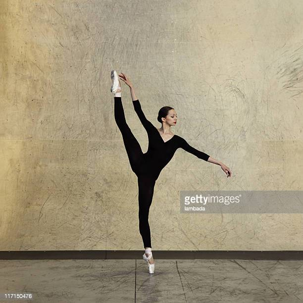 モダンなバレエダンサー