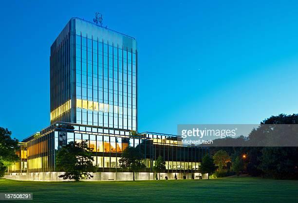 Modern Bank Building