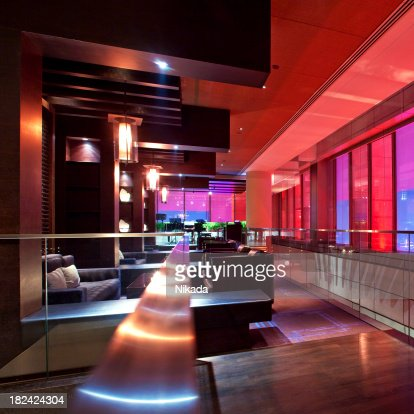 Club lounge stock photos and pictures getty images - Moderne loungebar ...