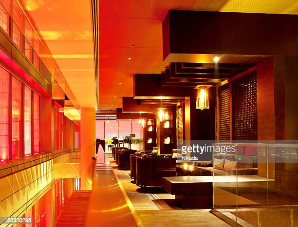 bar-salon moderne