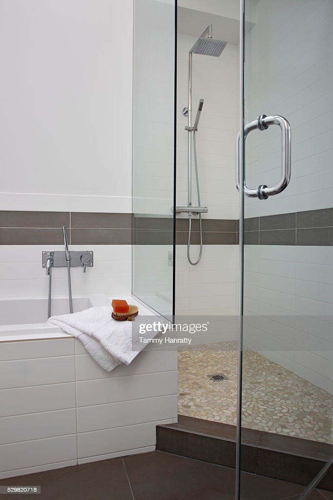 Modern bathroom : Foto de stock