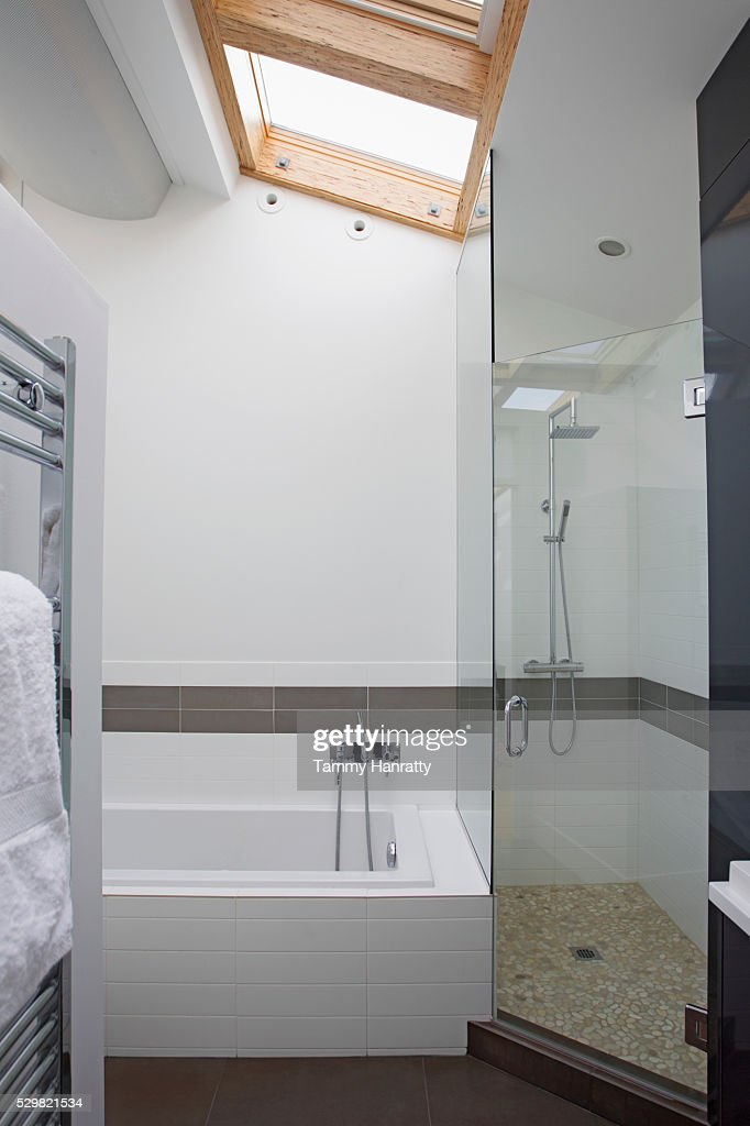Modern bathroom : Foto stock