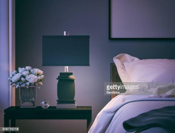 Moderne Schlafzimmer, Nahaufnahme