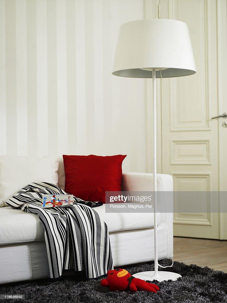 Modern bedroom interior : Stock Photo