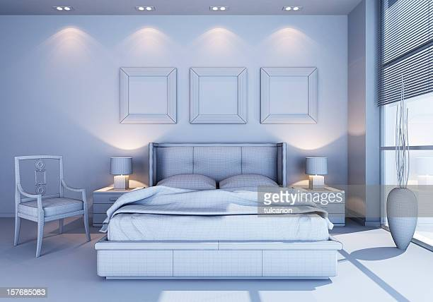 Modern Bedroom no textures
