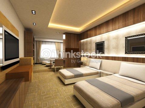 현대적이다 침실 스톡 사진  Thinkstock