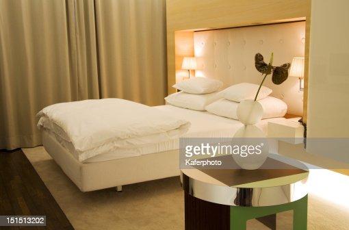 Moderna camera da letto : Foto stock