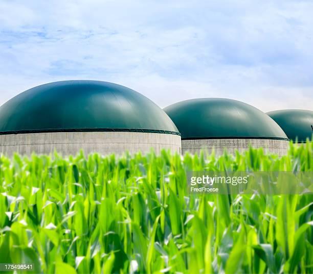 Moderna planta de Biogas