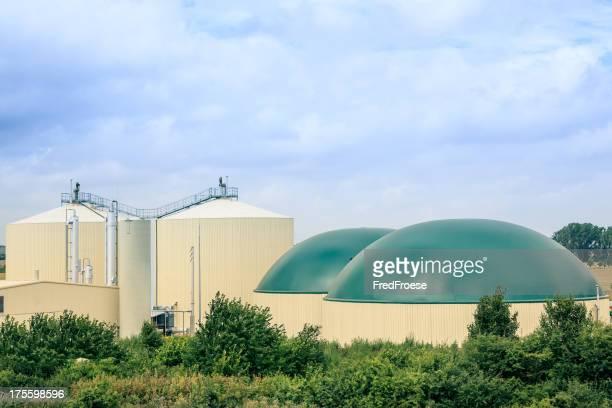Moderne Biogas fahren Plant