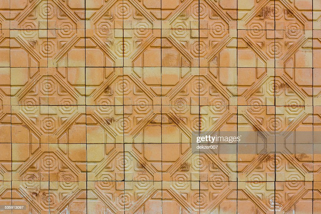 modern brick wall pattern : Stock Photo