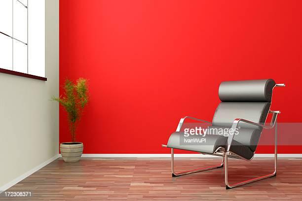modern bright interior render (CGI)