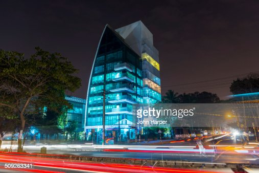 Modern building in Bangalore, India
