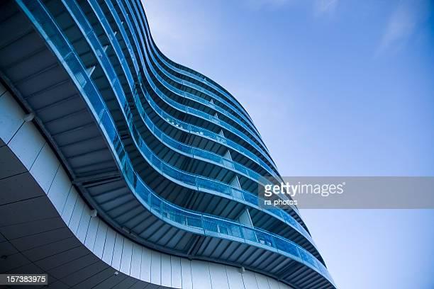 モダンな建物のコペンハーゲン,デンマーク