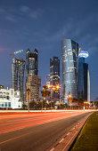 Modern buildings downtown Doha