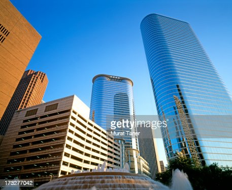 Modern buildings in a city : Stock Photo