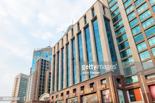 modern buildings in bangalore india stock photo getty images
