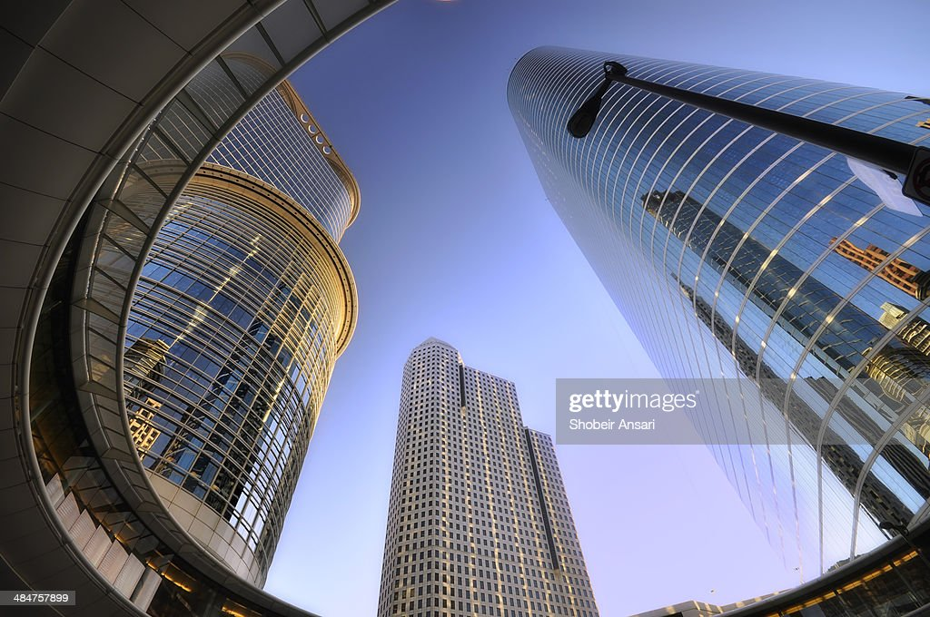 Modern buildings in Downtown Houston, Texas
