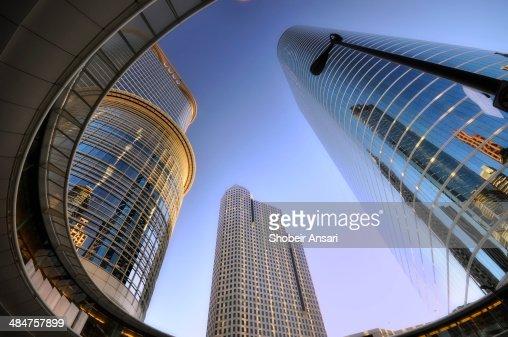 Modern buildings in Downtown Houston, Texas