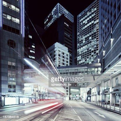 Modern buildings in Hong Kong : Foto de stock