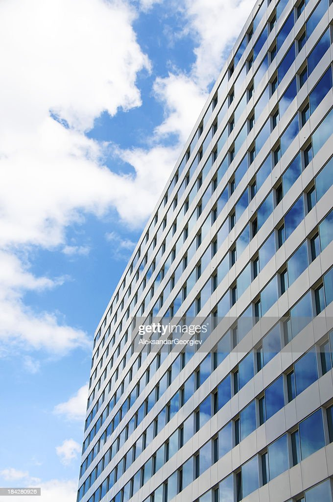 Modern Business Skyscraper Building : Stock Photo