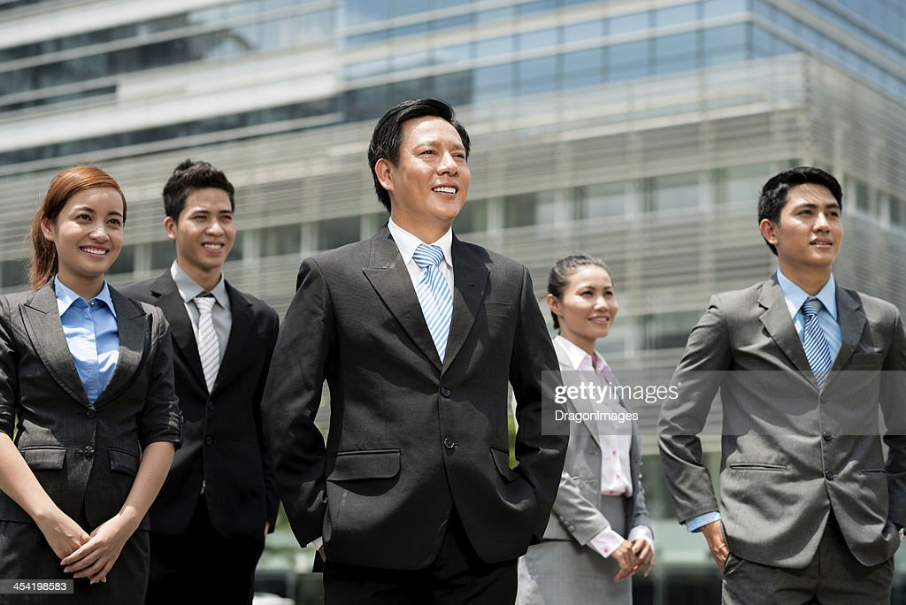 Modern business team : Stock Photo