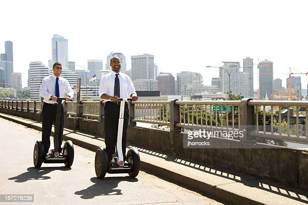 Modern Businessmen on The Move