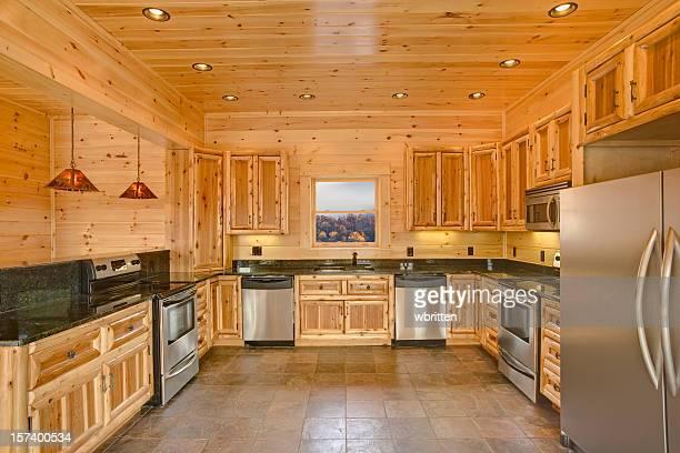 Modern cabin kitchen (XXL)