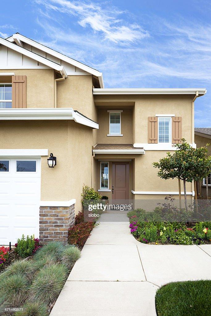 Modern California House : Stock Photo