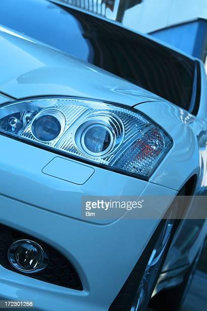 Modern Car Close Up