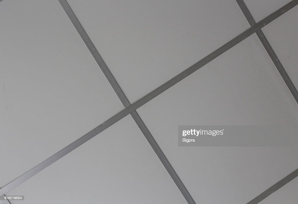 Modern ceiling, beautiful ceiling panel : Stock Photo