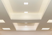 modern ceiling lights, graphic background