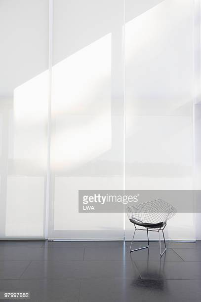 Modern Chair In Empty Loft