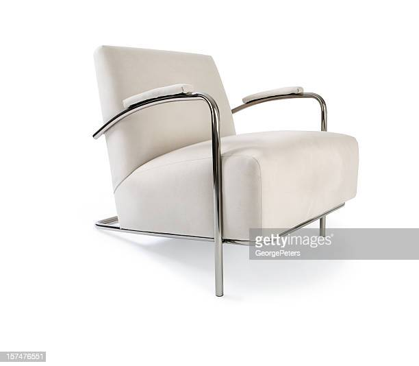 Modern Chair Isolated On White