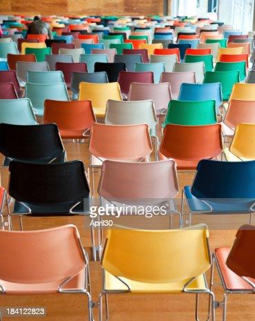 Modern Chairs in Auditorium
