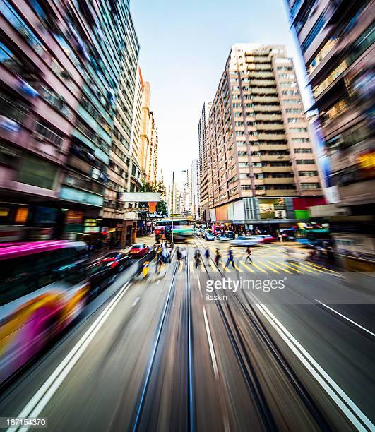Modern city blur