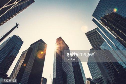Modern city.