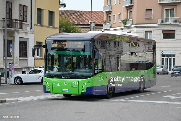 Modern CNG bus