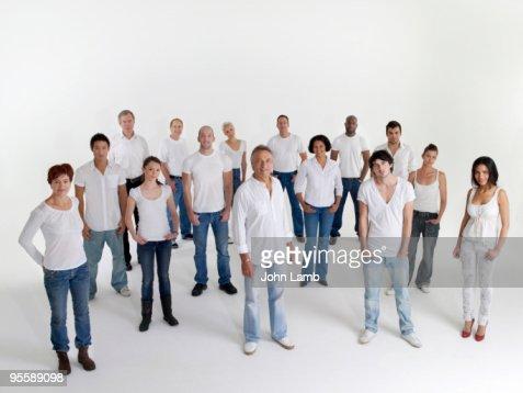Modern community : Stock Photo