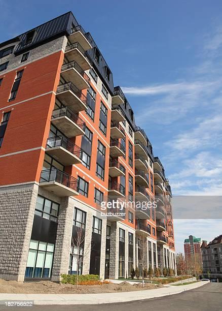 Modern Condominium Building Exterior