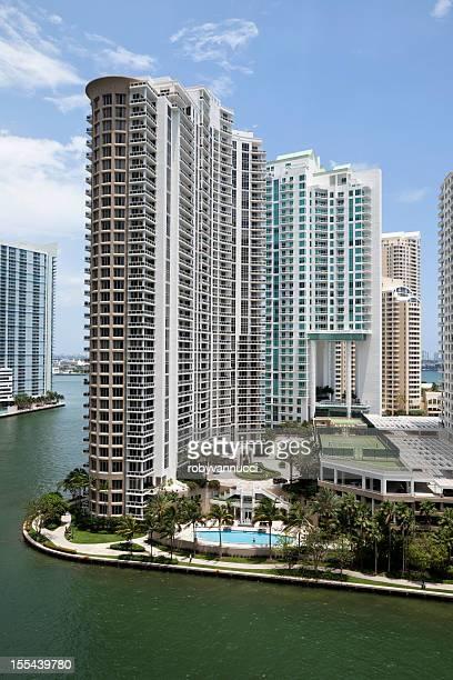 Modern Condos in Brickell Key, Miami