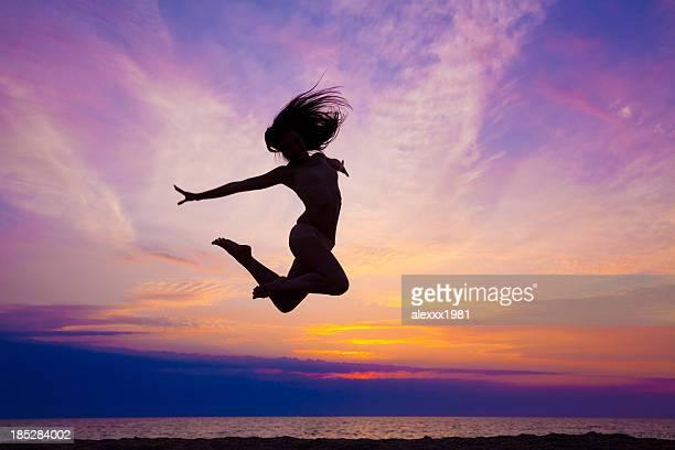 Moderno dance saltare