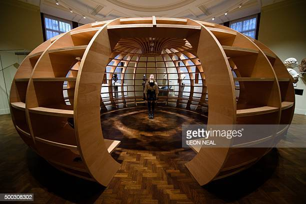 A modern conversation space titled 'The Globe' by Cuban art collective Los Carpinteros is unveiled within the Victoria and Albert museum's new...