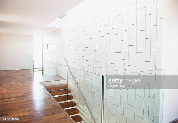 Modern corridor and staircase in house