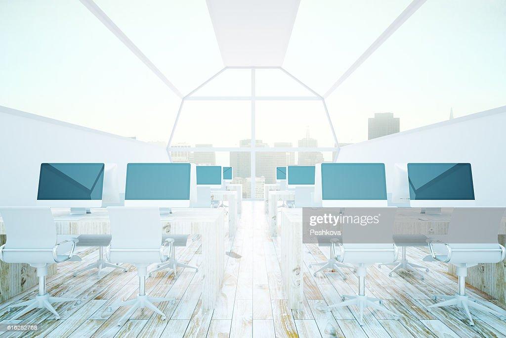 Modern coworking office : Foto de stock